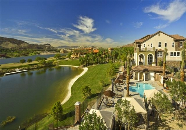Lake Las Vegas Lakefront Townhome former Model Toll Brothers